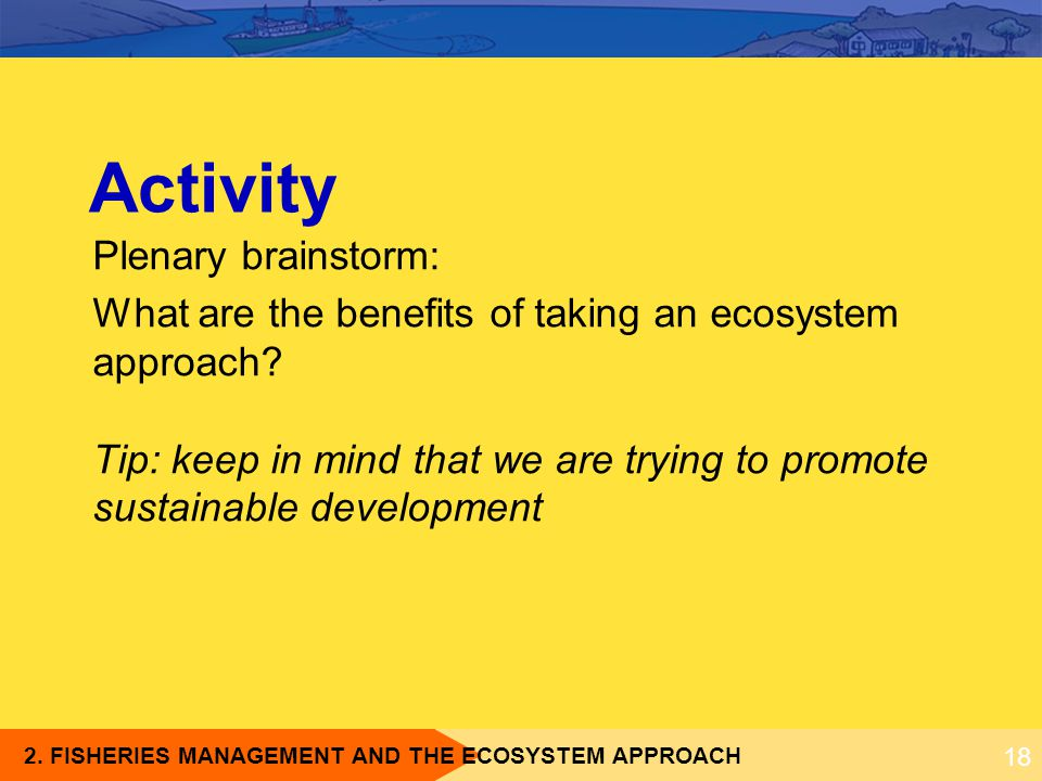 Activity Plenary brainstorm: