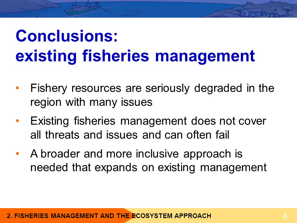 existing fisheries management