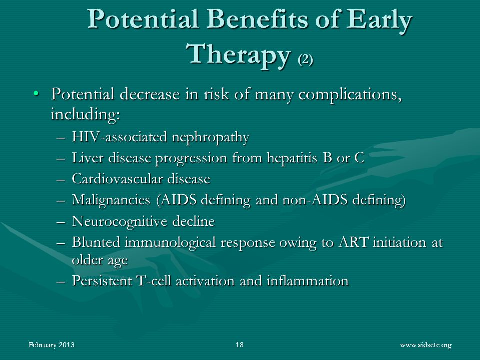 Potential Benefits of Early Therapy (2)