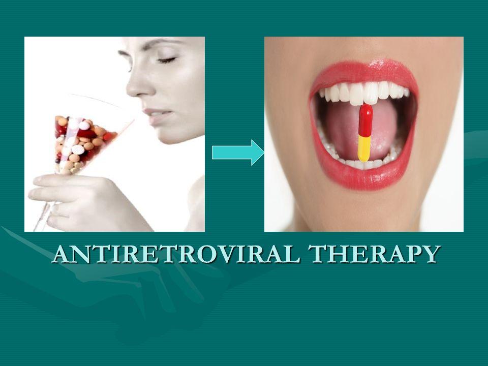 Antiretroviral therapy