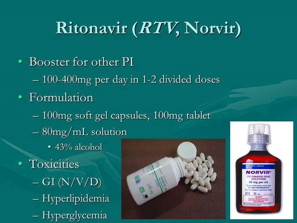 Ritonavir (RTV, Norvir)