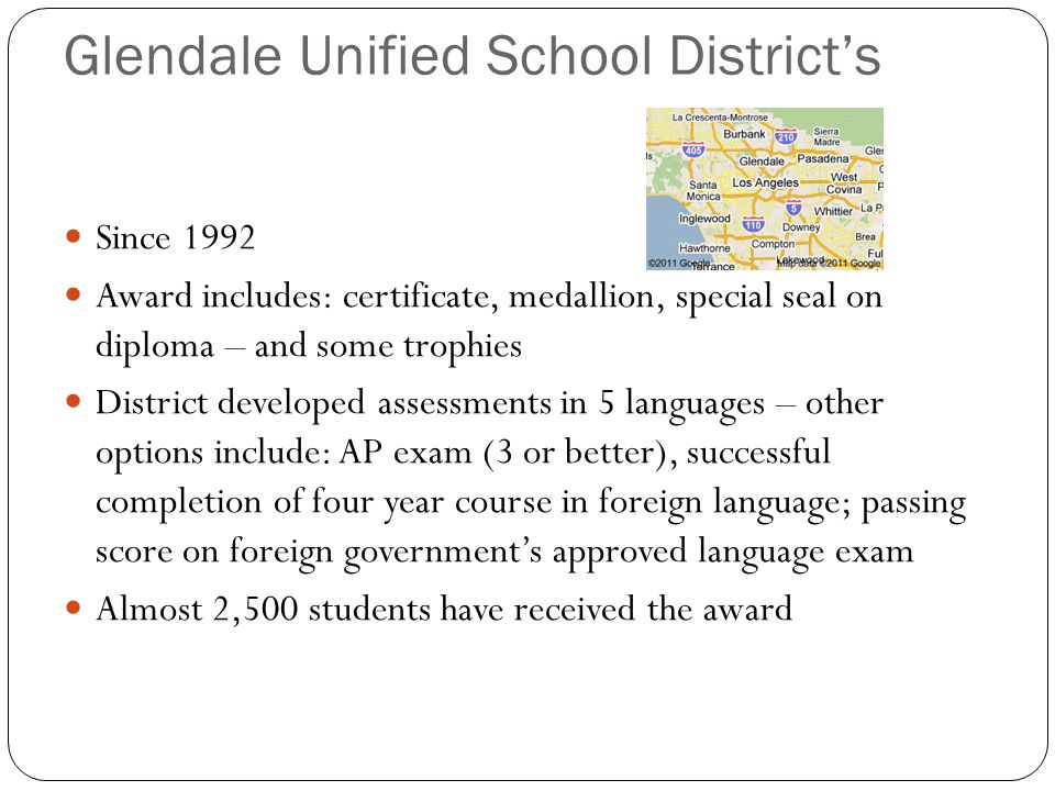Glendale Unified School District's