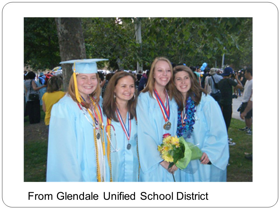 From Glendale Unified School District