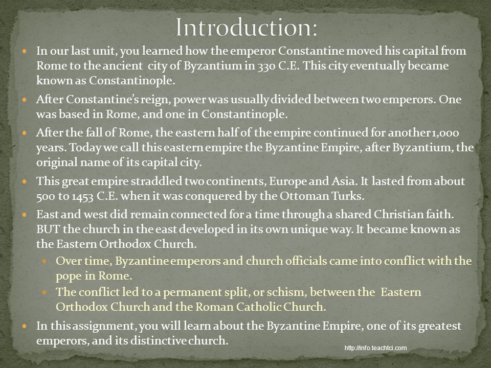 an introduction to the life of constantine i a roman emperor The first life of constantine describes its subject as resplendent with every virtue that godliness bestows the first roman emperor with a cross in his diadem.