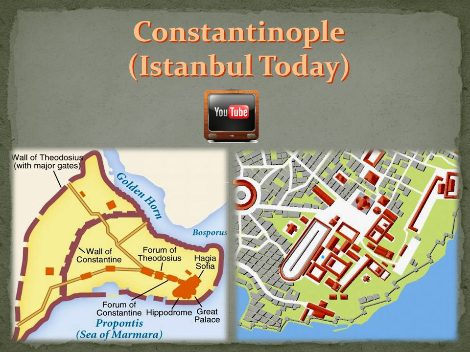 Constantinople (Istanbul Today)