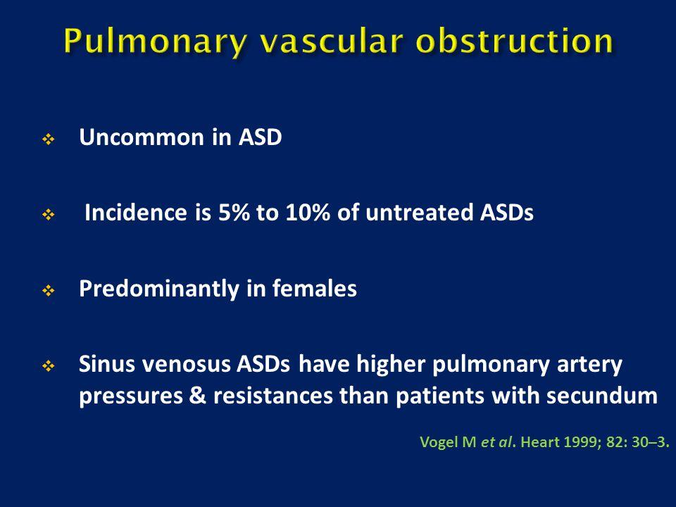 Pulmonary vascular obstruction