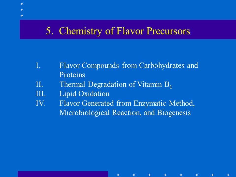 5. Chemistry of Flavor Precursors
