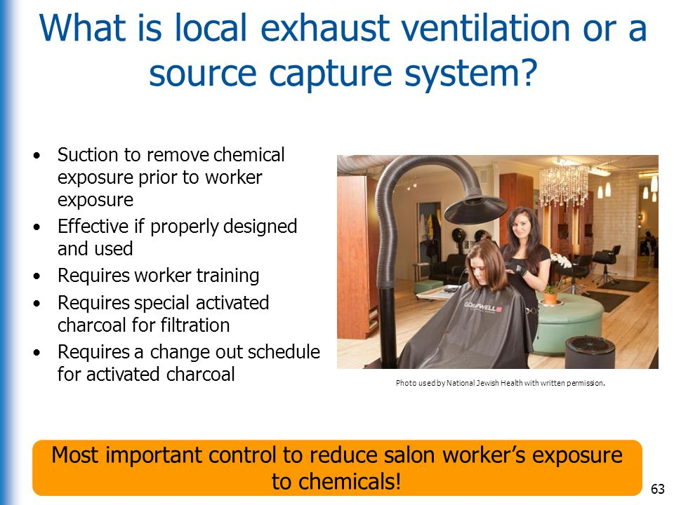 What is local exhaust ventilation or a source capture system