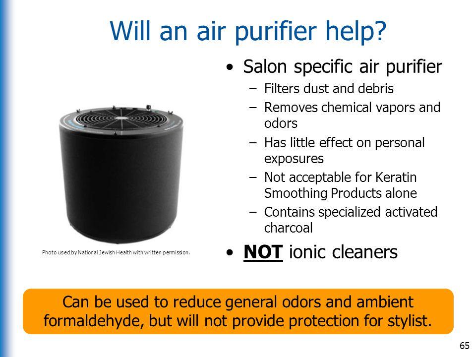 Will an air purifier help