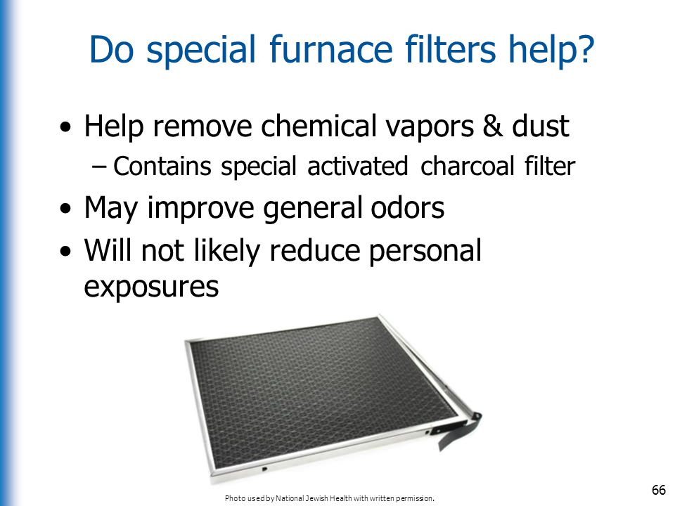 Do special furnace filters help