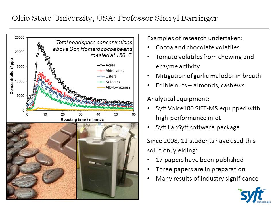 Ohio State University, USA: Professor Sheryl Barringer