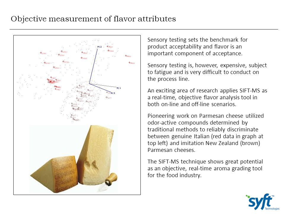 Objective measurement of flavor attributes