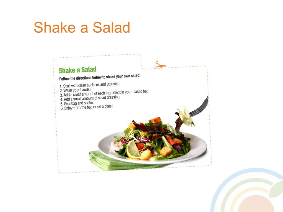 Shake a Salad