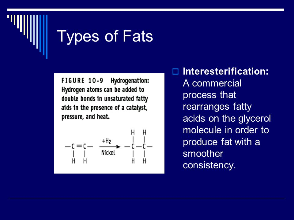 Types of Fats