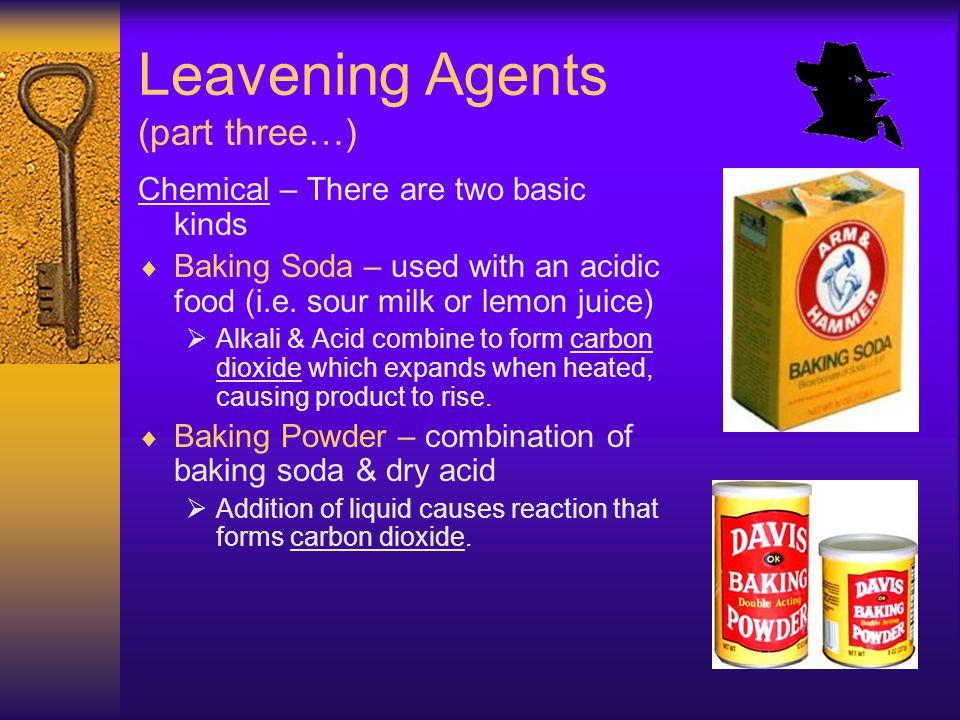 Leavening Agents (part three…)