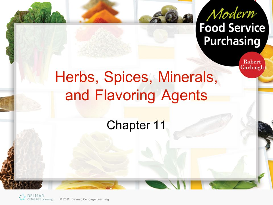 Herbs, Spices, Minerals, and Flavoring Agents