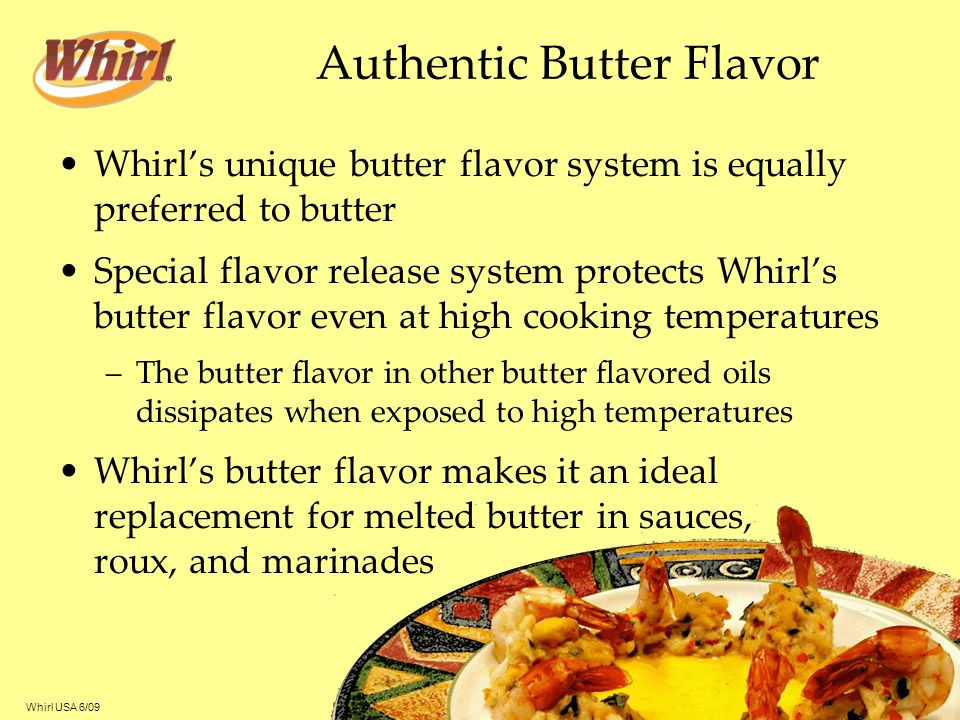 Authentic Butter Flavor