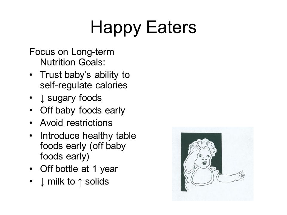 Happy Eaters Focus on Long-term Nutrition Goals: