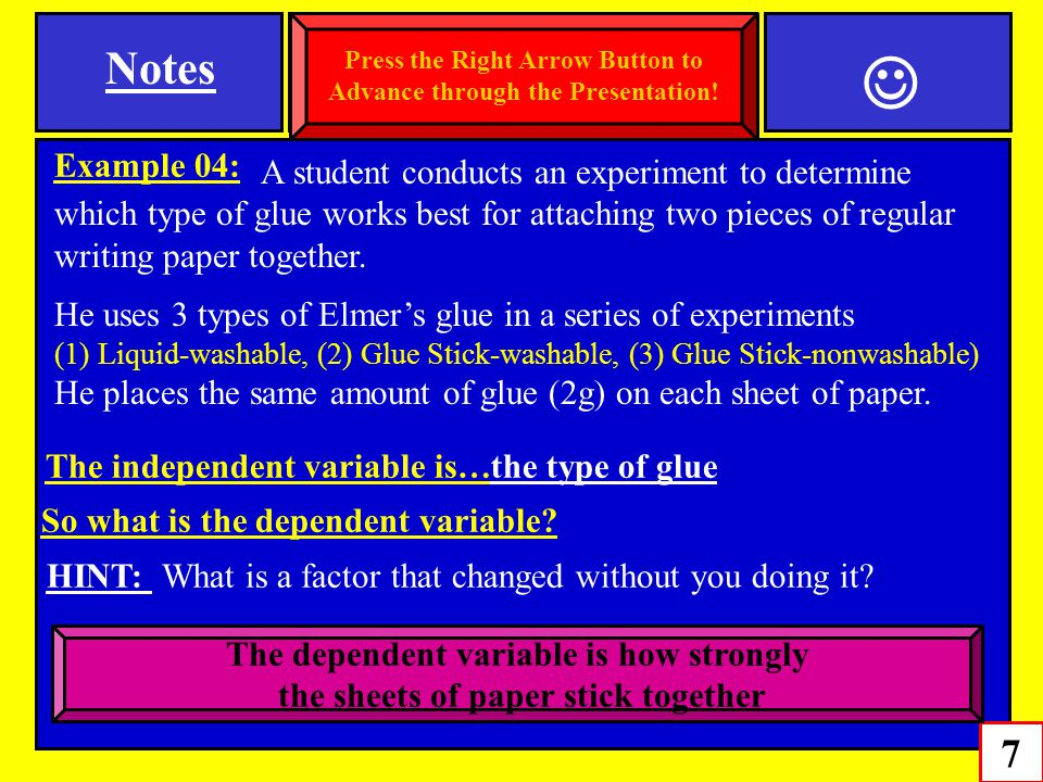 Notes 7 SPI 0807.Inq.1 (Variables and Controls) Example 04: