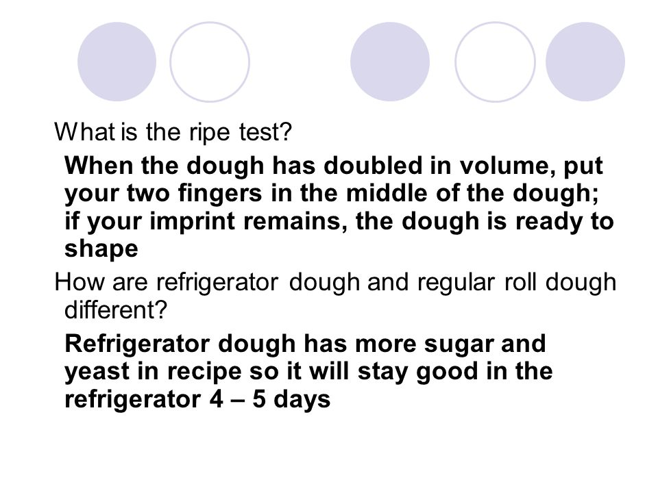 What is the ripe test