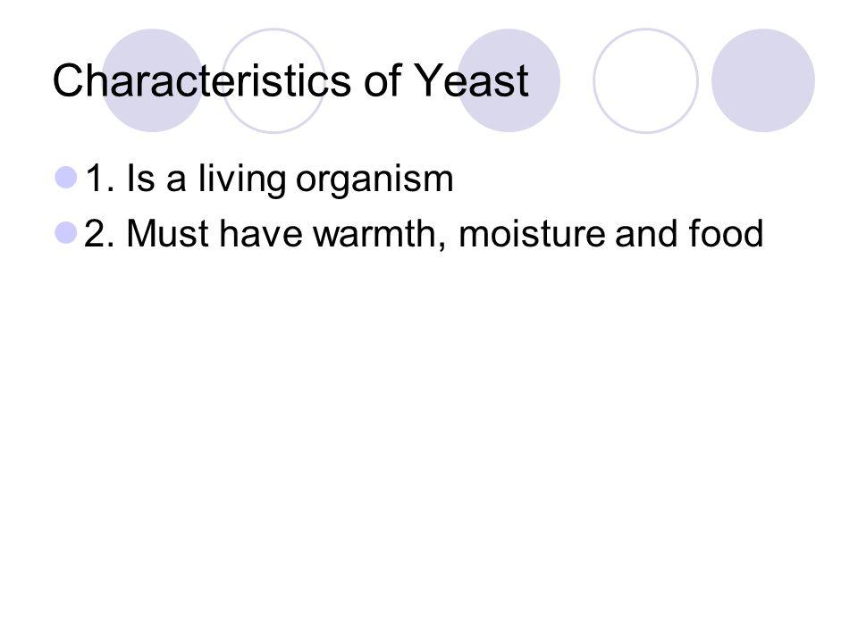 Characteristics of Yeast