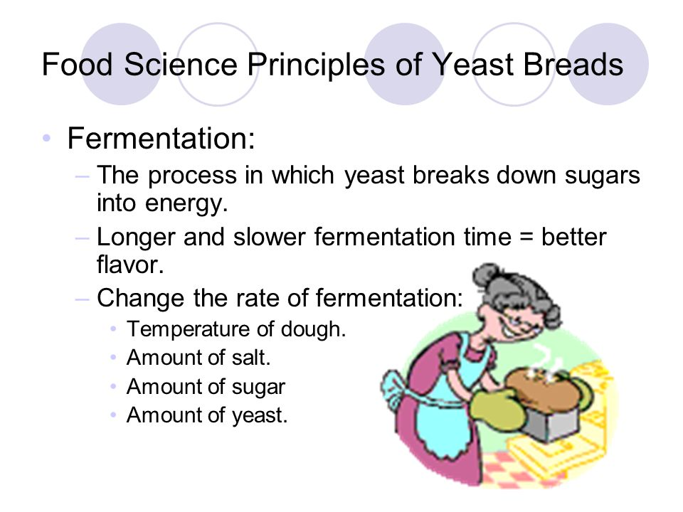 Food Science Principles of Yeast Breads