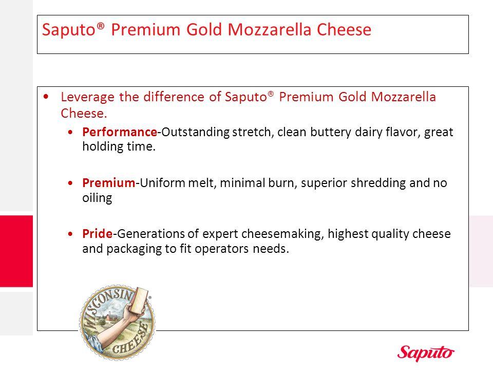 Saputo® Premium Gold Mozzarella Cheese