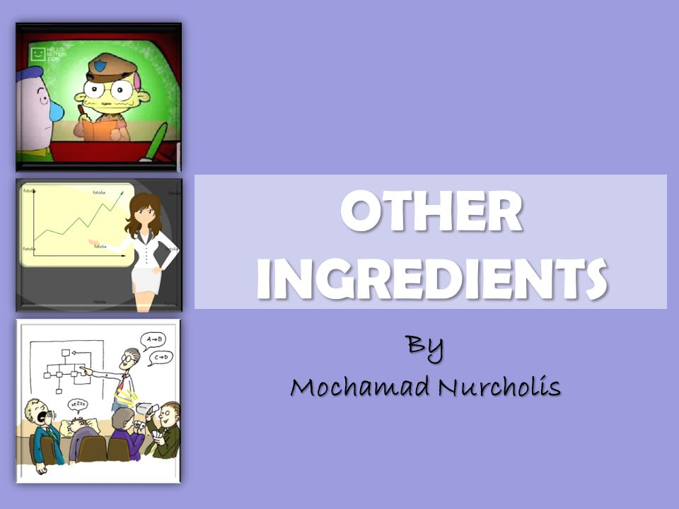 OTHER INGREDIENTS By Mochamad Nurcholis