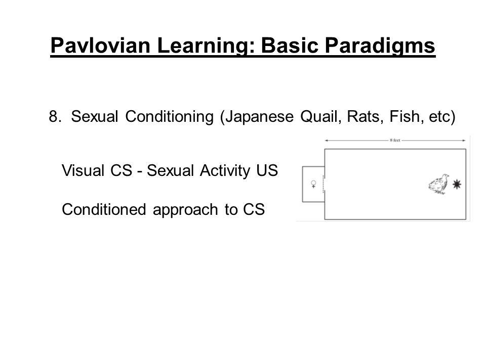 Pavlovian Learning: Basic Paradigms