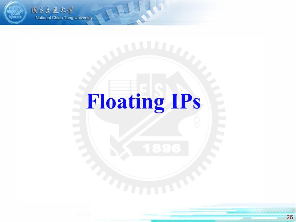 Floating IPs
