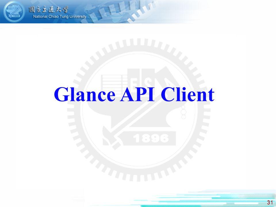 Glance API Client
