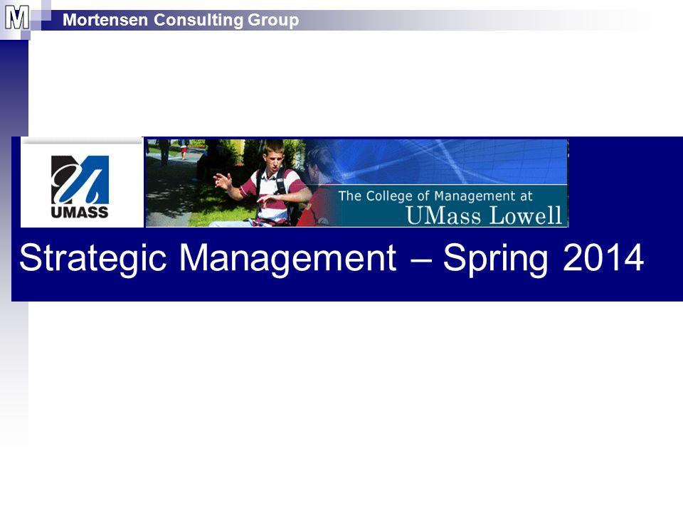 Strategic Management – Spring 2014