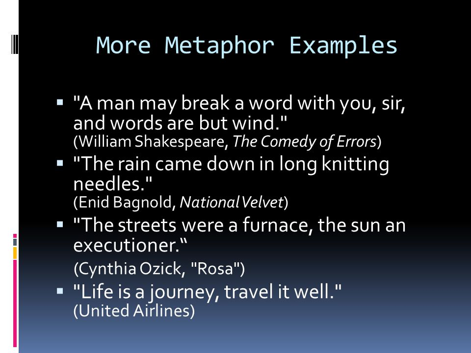 Figurative Language Idioms Analogies Similes And Metaphors Ppt