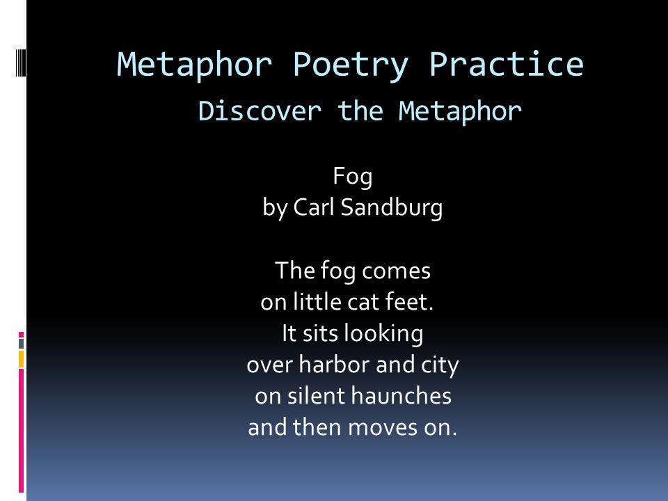 Metaphor Poetry Practice Discover the Metaphor