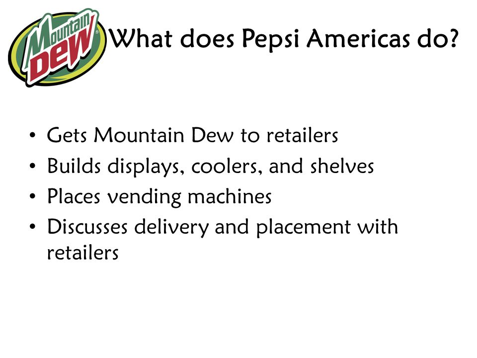 What does Pepsi Americas do
