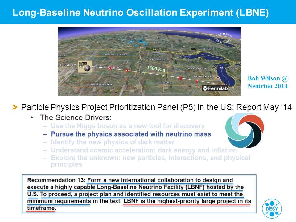 Long-Baseline Neutrino Oscillation Experiment (LBNE)