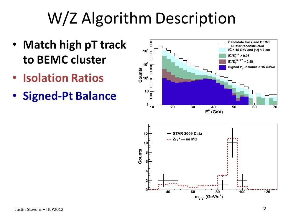 W/Z Algorithm Description