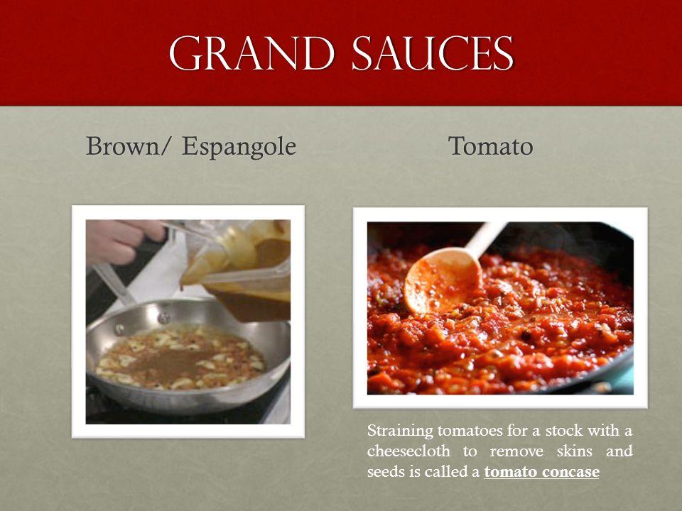 Grand Sauces Brown/ Espangole Tomato