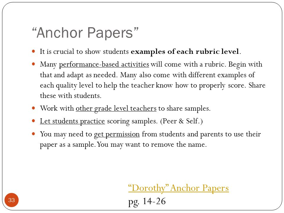 Anchor Papers Dorothy Anchor Papers pg. 14-26