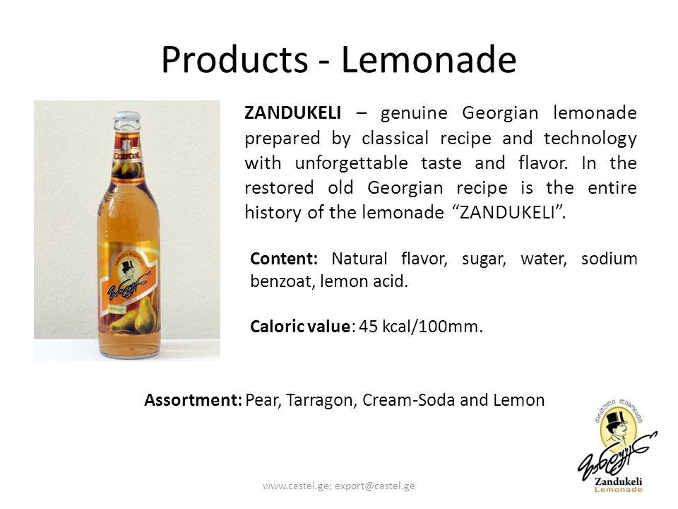 Products - Lemonade