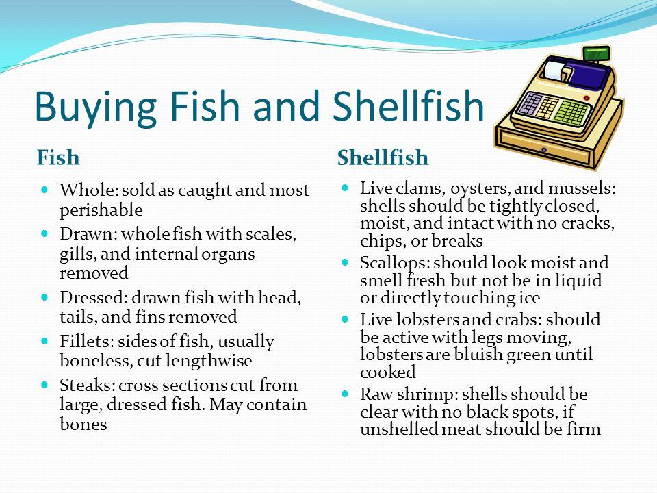 Buying Fish and Shellfish