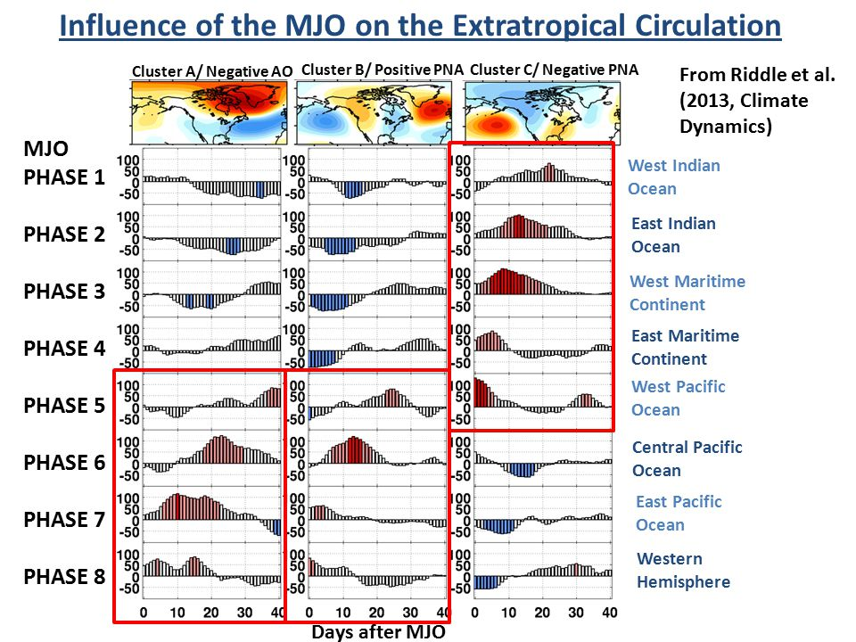 Influence of the MJO on the Extratropical Circulation