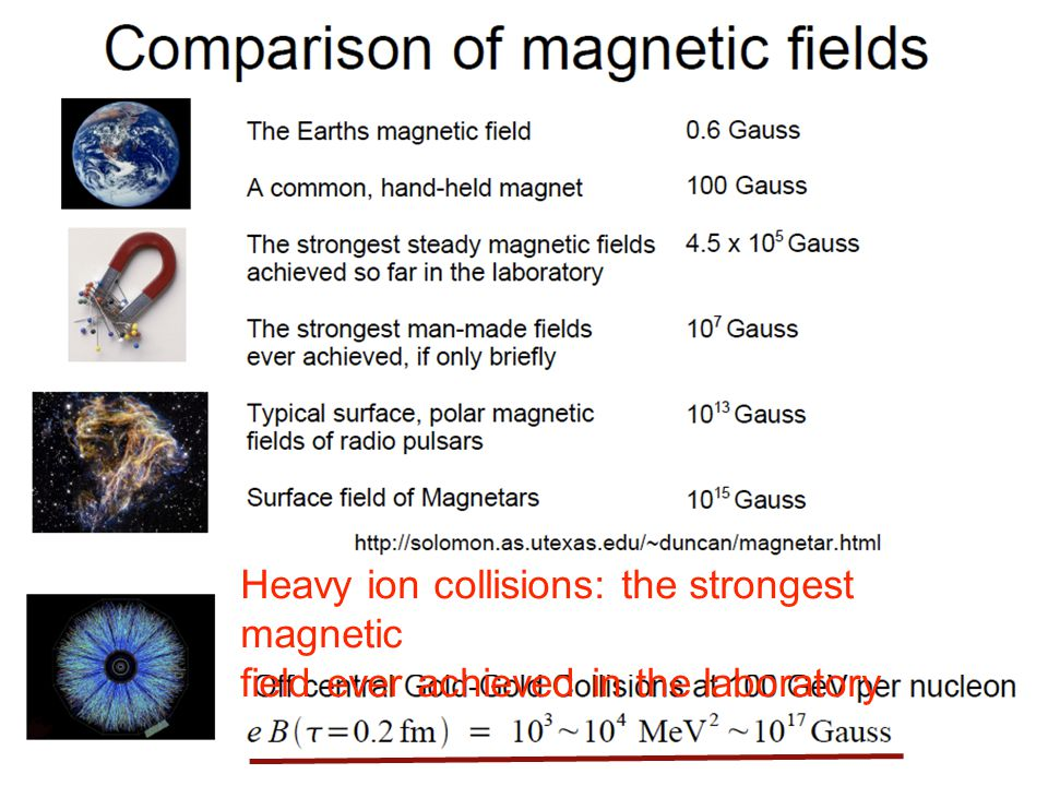 Heavy ion collisions: the strongest magnetic