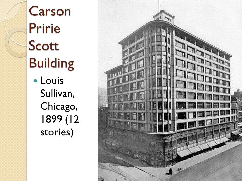 Carson Pririe Scott Building