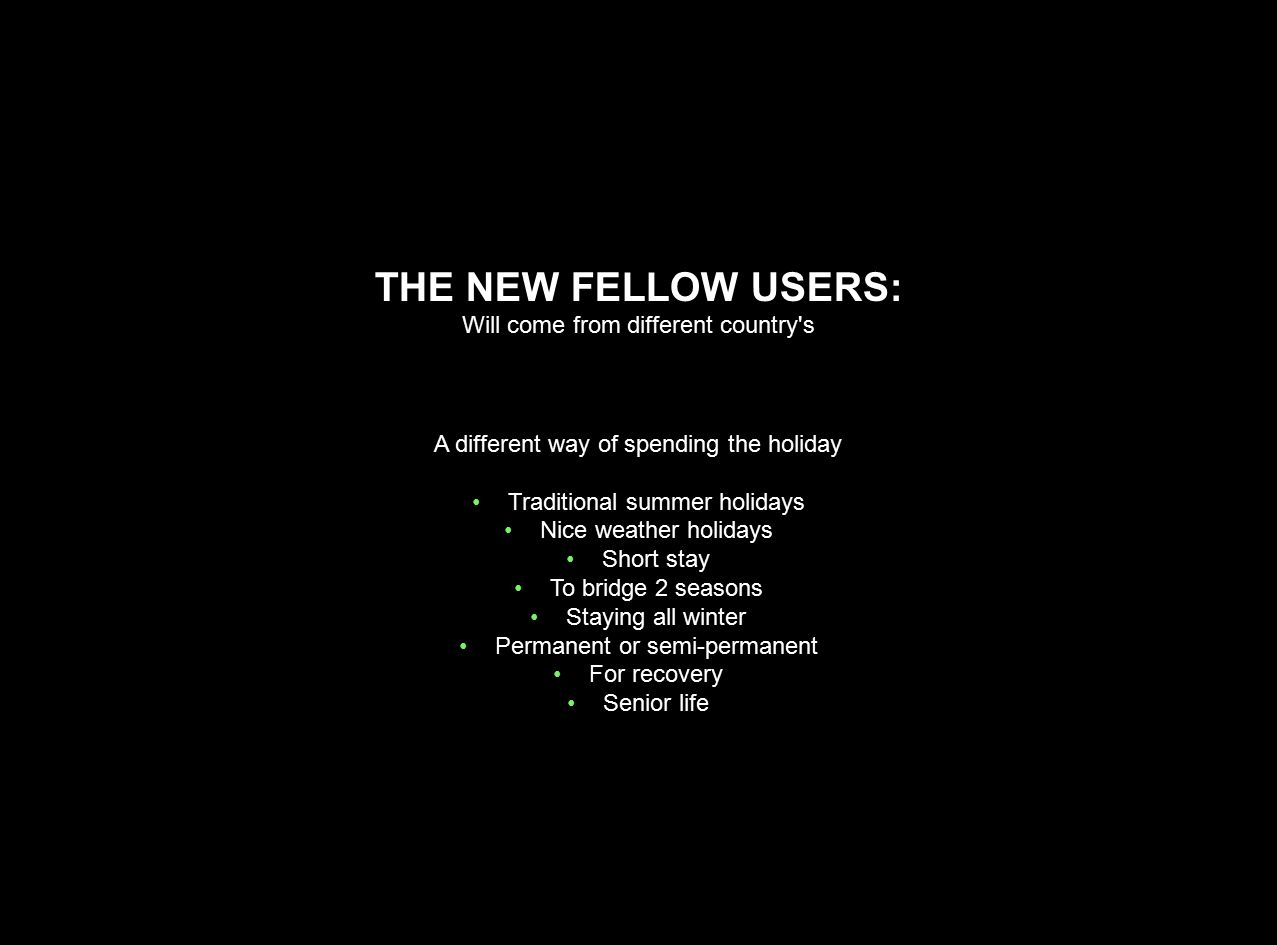 THE NEW FELLOW USERS: Will come from different country s