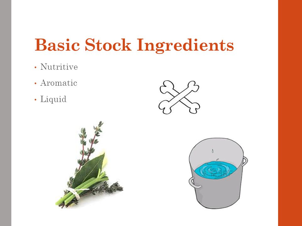 Basic Stock Ingredients