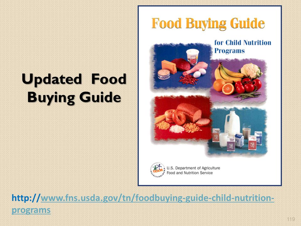 Updated Food Buying Guide