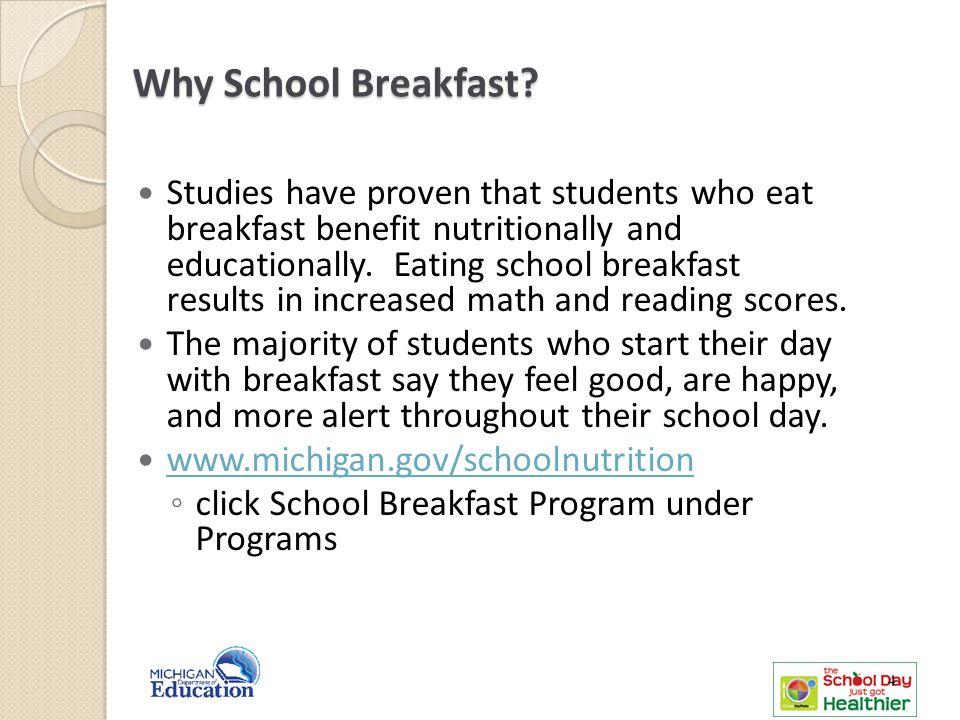 Why School Breakfast