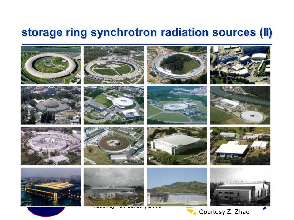 storage ring synchrotron radiation sources (II)