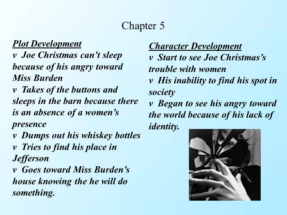 Chapter 5 Plot Development Character Development